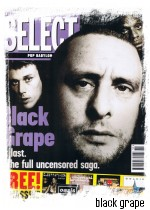 Black Grape (capa Select Novembro 1995)
